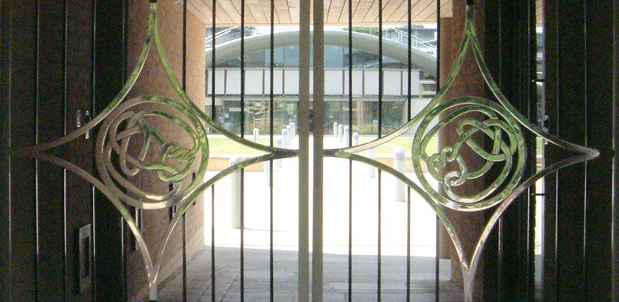Mathematical Gates (Faulkes Gatehouse)