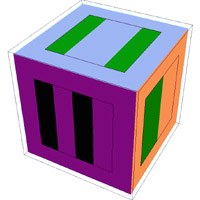 Image of protein cube