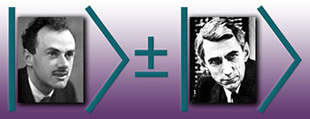 Image showing Paul Dirac and Claude Shannon