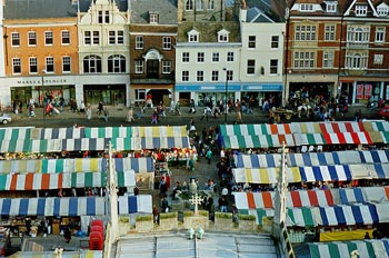 Cambridge market view by Steve Day 2007
