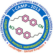 i-CAMP Summer School on Liquid Crystals logo