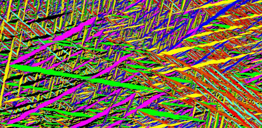 """Martensitic Material"", an experiment ofTomonari Inamura's group."