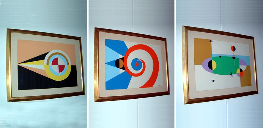 """""""Flags of the Undiscovered Planets"""" by César Manrique"""