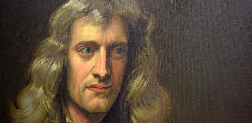 Portrait Of Isaac Newton Isaac Newton Institute For