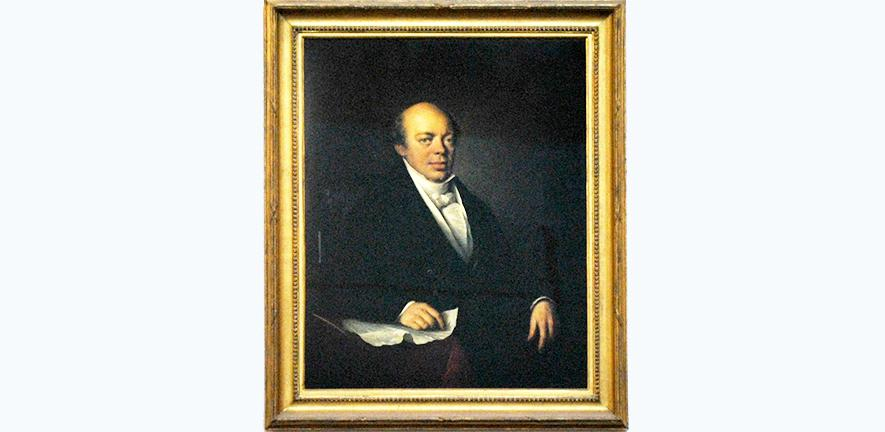 portrait of Nathan Mayer Rothschild