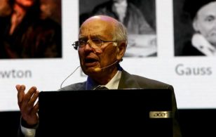 """""""Sir Michael Atiyah: Forays into Physics"""" to take place at INI on Friday 25 October 2019"""