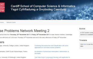 Inverse Problems Network meeting, 23-24 November 2017